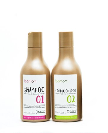 Kit Bontom Shampoo 300 ml + Condicionador 300 ml