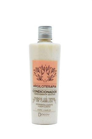 Condicionador Argila Branca Remineralizante Purificante 250 ml Argiloterapia
