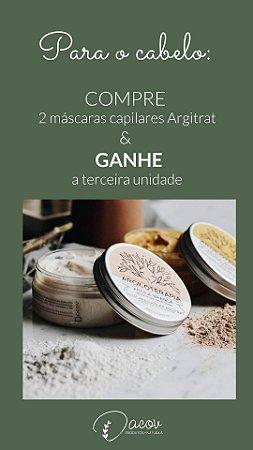 PROMOÇÃO Mascara Argila Amarela 200g Argiloterapia para Cabelos Danificados -SUPER PROMOÇÃO  COMPRE 2 E RECEBA 3 MASCARA AMARELA