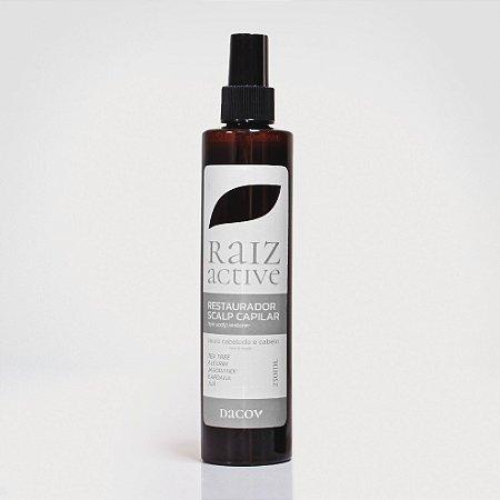 Tonico Capilar Raiz Active Tratamento Antiqueda Crescimento 250 ml-  a base de Fitoterápicos +óleos essenciais . Eficácia comprovada a mais de 5 anos