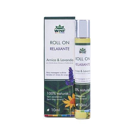 Roll on de Massagem Relaxante Arnica e Lavanda 10ml