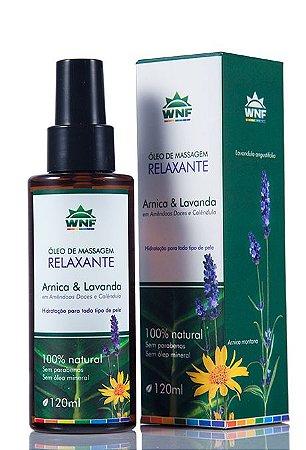 Óleo de Massagem Relaxante Arnica e Lavanda - 120ml