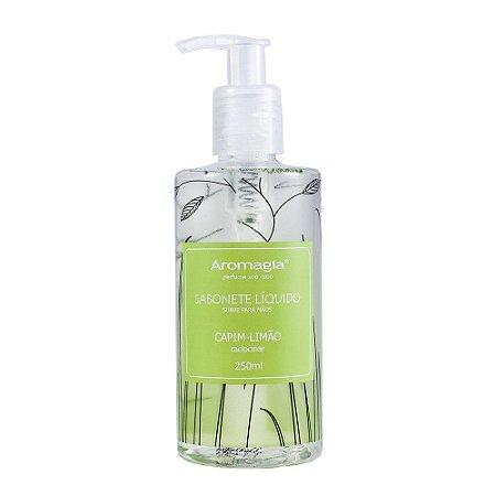 Sabonete Líquido para as Mãos Aromagia - Capim Limão 250ml - WNF