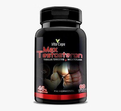 Max Testosteron - Tribulus Terrestris + Maca Peruana 60 cápsulas Vita Caps