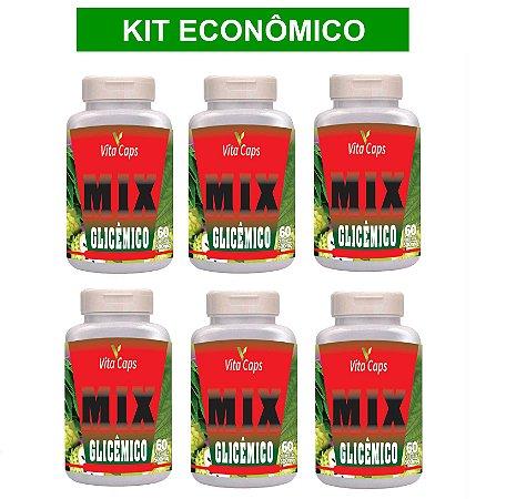 KIT ECONÔMICO 6 Mix Glicêmico 360 cápsulas - Vita Caps