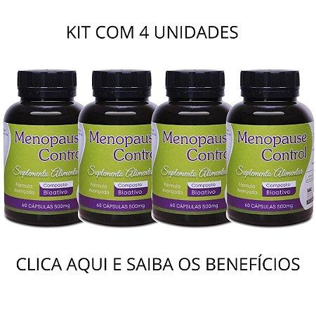 MENOPAUSECONTROL - CONTROLA A MENOPAUSA KIT COM 4 UNID