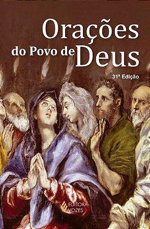 Livro Orações Do Povo De Deus