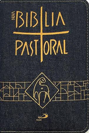 Nova Bíblia Pastoral - Média - Zíper Jeans