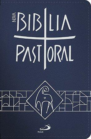 Nova Bíblia Pastoral - média zíper