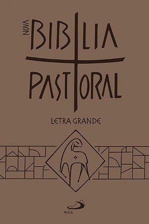 Nova Bíblia Pastoral letra grande
