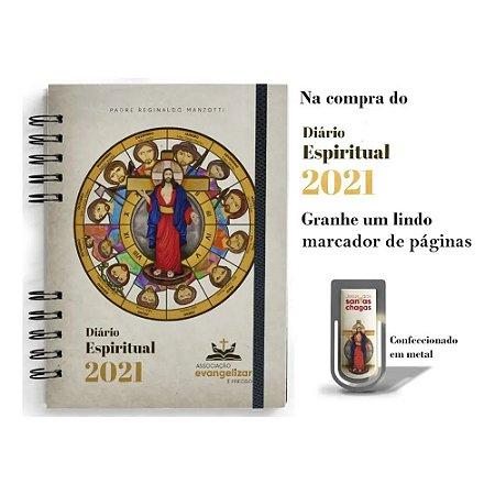 Diário Espiritual 2021 - Pe. Reginaldo Manzotti