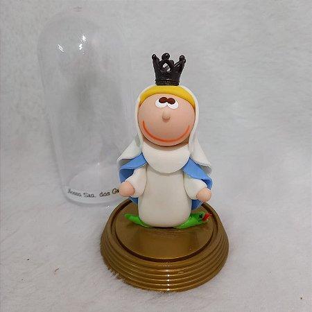Imagem Nossa Senhora das Graças na Cúpula (Biscuit)