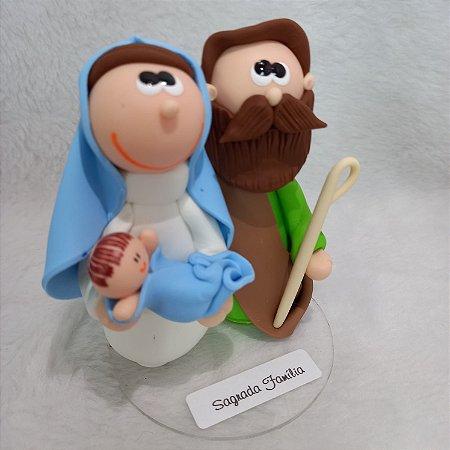 Imagem Sagrada Família (Biscuit)
