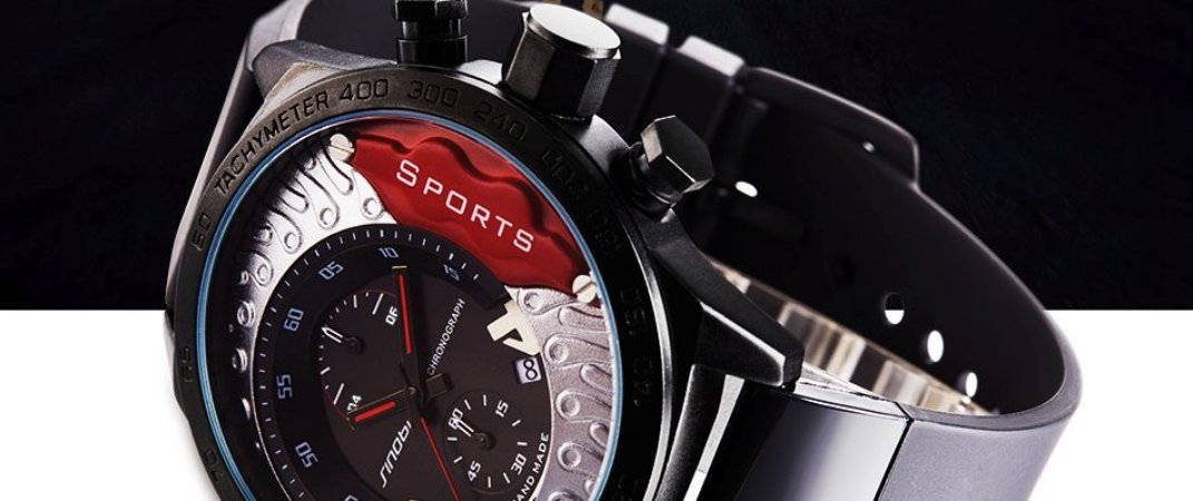 8e65f591326 Relógio Cronógrafo Masculino Relógio Militar relógios de Pulso À Prova D   Água