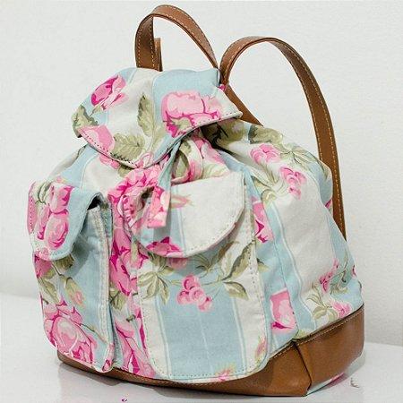 Mochila Bucket Floral