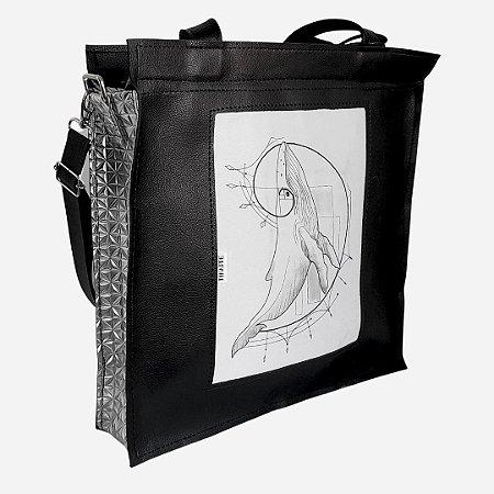 Bolsa Baleia -  Bianca Mendes - Geométrica