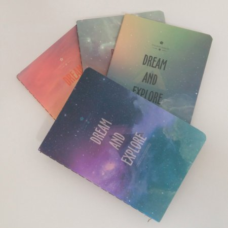 Caderneta Pautada Universo