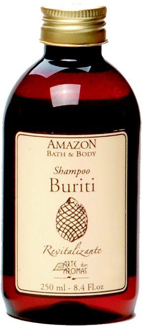 Shampoo Buriti (cabelos normais) Arte dos Aromas 250ml