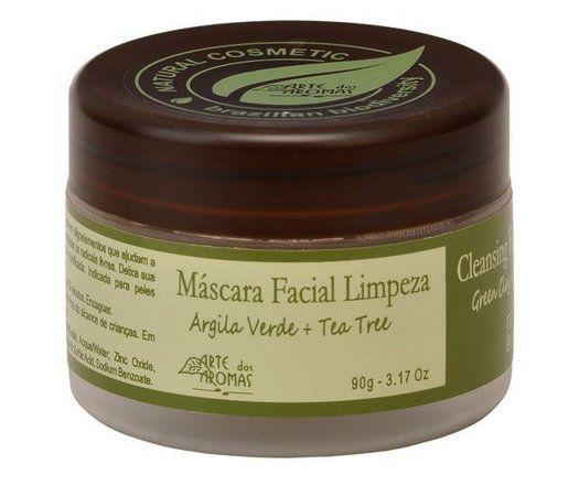Mascara Argila Verde (Limpeza) - Arte dos Aromas 90g