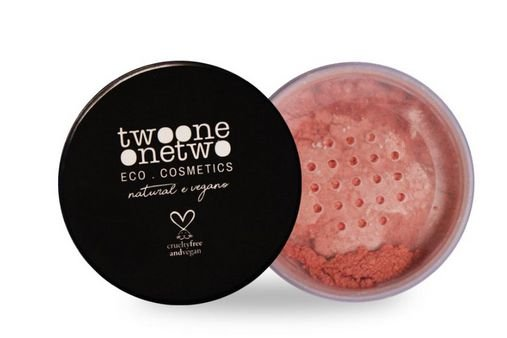 Blush Facial Leite de Coco Natural Vegano Peach - Twoone Onetwo 9g
