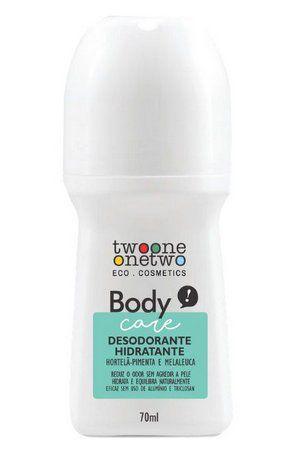 Desodorante Rol-on Hortela-Pimenta e Melaleuca Twoone Onetwo 70ml