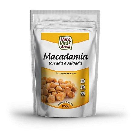 Macadâmia Torrada e Salgada - 100 g