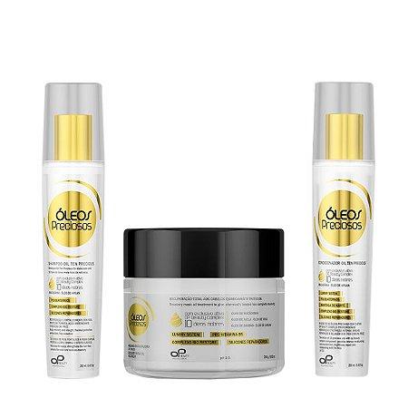OP Beauty   Kit Home Care Óleos Precioso (3 itens)