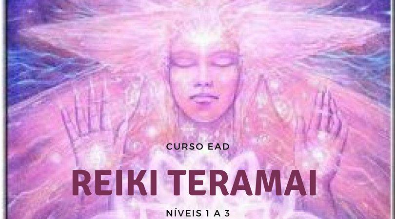 Curso EAD Reiki Teramai Níveis 1 a 3 com Mestrado