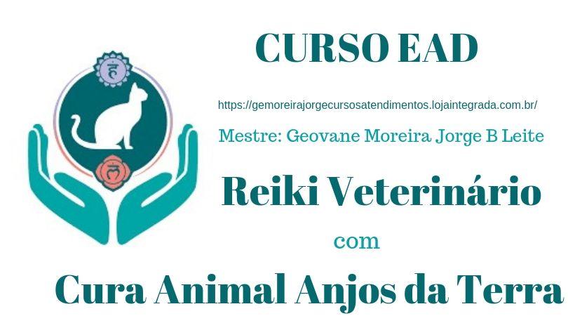 Curso EAD Reiki Veterinário com Cura Animal Anjos da Terra