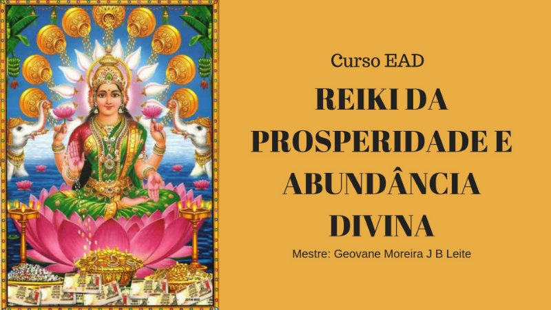 Curso EAD Reiki da Prosperidade e Abundância