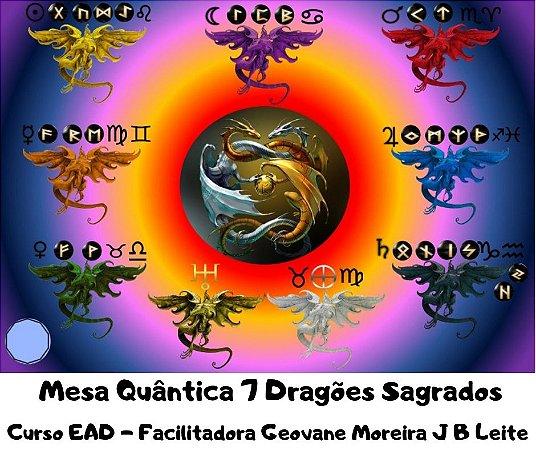 Curso EAD Mesa Quântica 7 Dragões Sagrados
