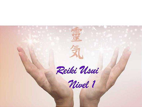 Curso EAD Reiki Usui - nível 1
