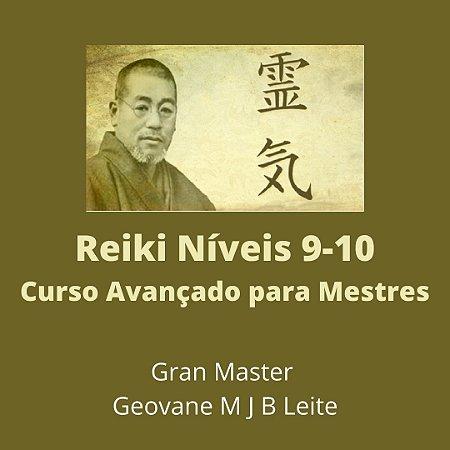 Curso EAD Reiki Avançado  níveis 9 e 10 - Curso de Especialização para Mestres em Reiki