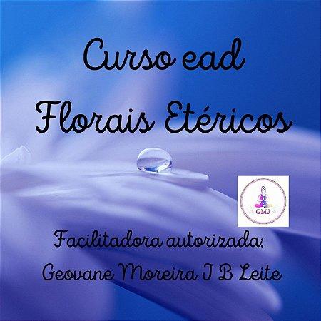 Curso EAD Florais Etéricos - níveis Praticante e Mestrado