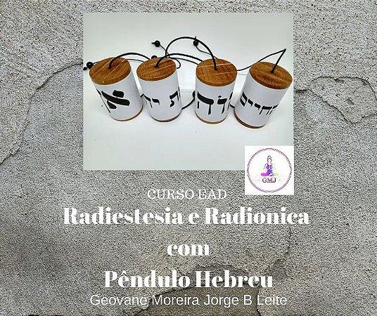 Curso EAD Radiestesia e Radionica com Pêndulo Hebreu