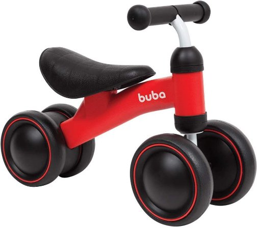 Bicicleta de Equilibrio - 4 Rodas, BUBA
