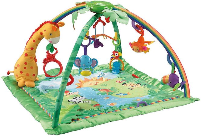 Tapete De Atividades Fisher Price Rainforest