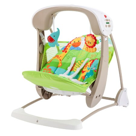 Cadeira de Balanço - Fisher Price Rainforest