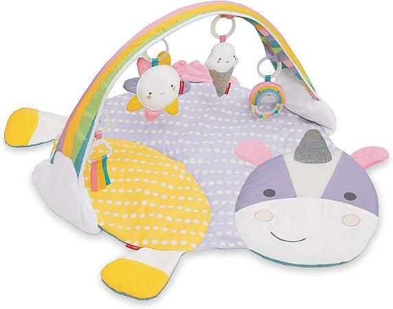 Tapete de Atividades Infantil Unicórnio, Skip Hop, Multicolorido