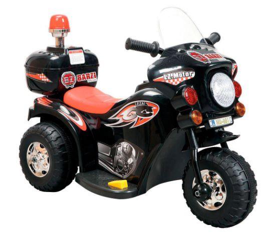 Moto Elétrica Infantil Policial Brink+