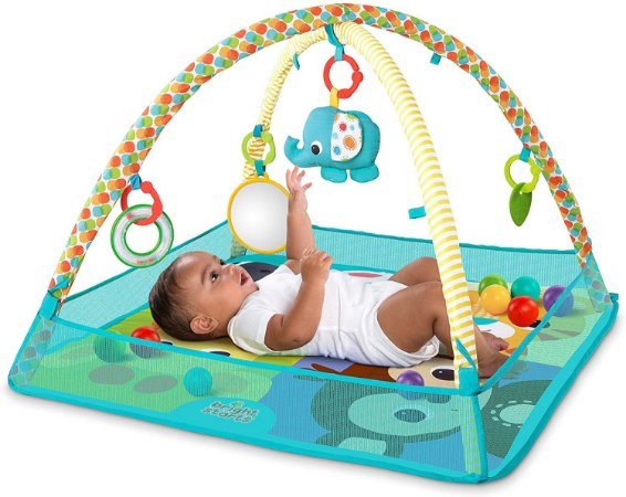 Tapete de atividades More-in-One Ball Pit Fun Activity Gym - Bright Starts