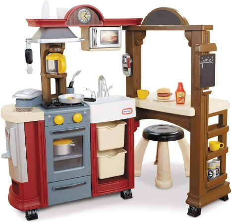 Cozinha e Bistro, Little Tikes - (Centro de Atividades)