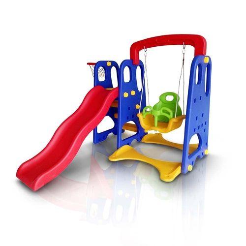 Playground Infantil 3 Em 1 - Colorido