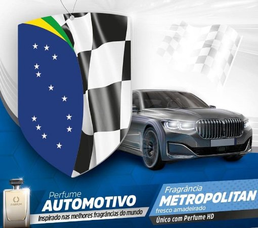 Perfume Automotivo Metropolitan