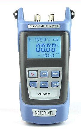 Medidor de energia com VFL (POWER METER)