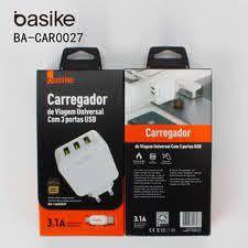 CARREGADOR DE VIAGEM UNIVERSAL TIPO C BA-CAR0027