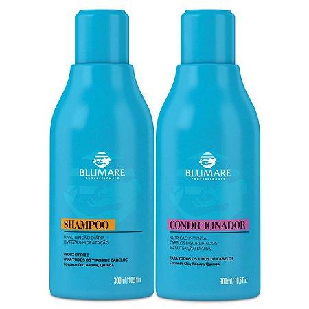 Kit Manutenção Shampoo e Condicionador 300ml - Blumare Pro