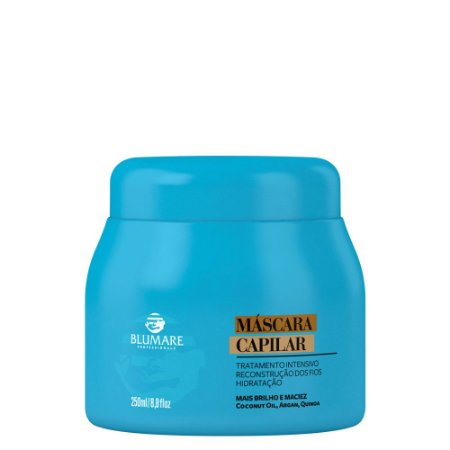 Máscara Pós Tratamento Ultra Hidratante 250g - Blumare Pro