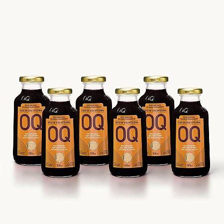 Suco de Uva Integral OQ | 300ml | Caixa 6 Garrafas