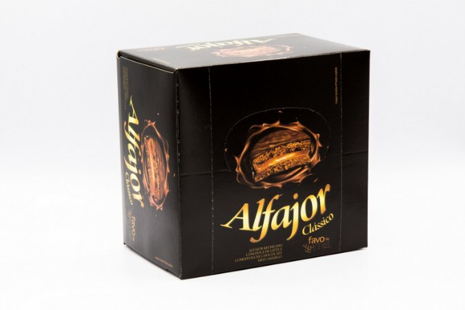 Alfajor Clássico 40 g - Display com 12 unidades